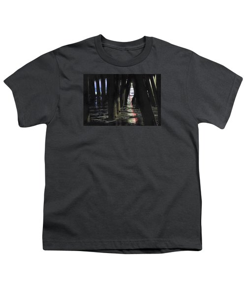 Youth T-Shirt featuring the photograph Peeking by Lora Lee Chapman