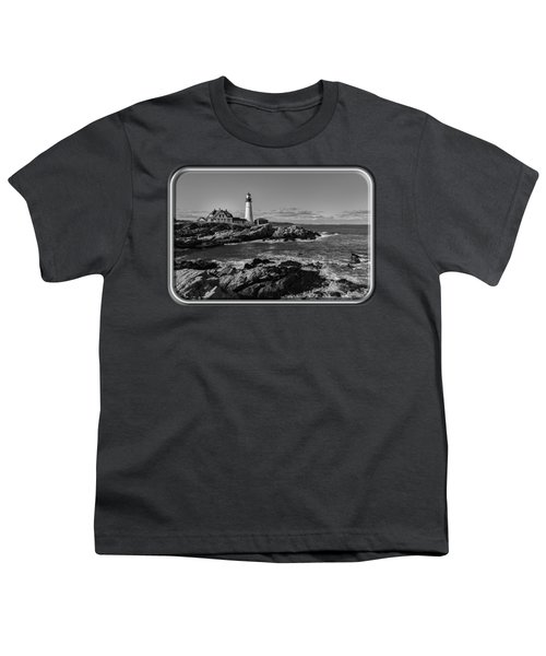 Portland Head Light No.34 Youth T-Shirt by Mark Myhaver