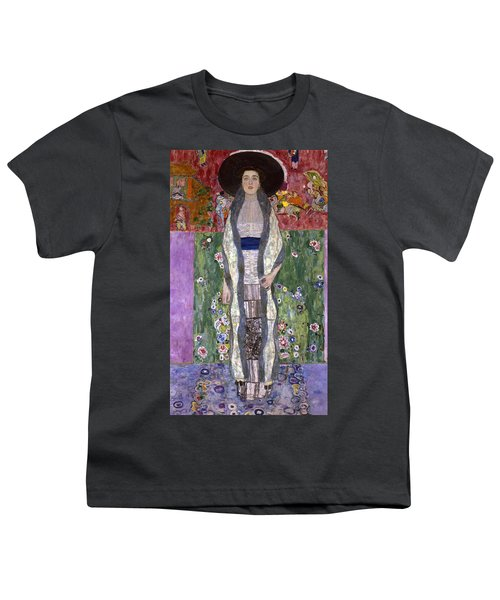 Portrait Of Adele Bloch-bauer II Youth T-Shirt by Gustav Klimt