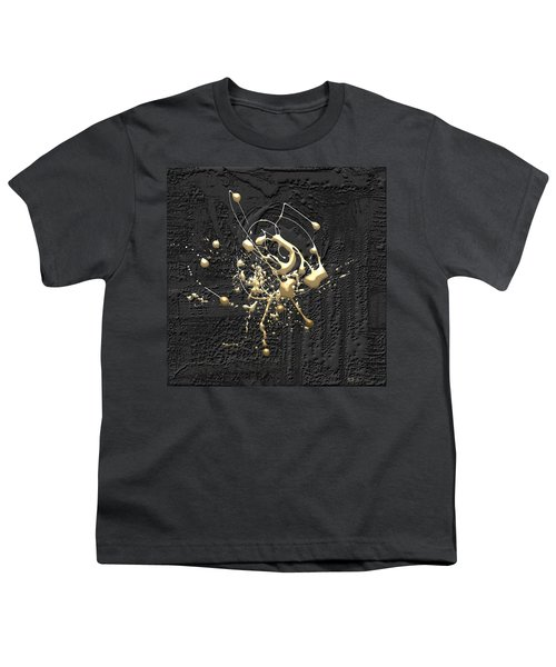Precious Splashes - Set Of 4 Youth T-Shirt by Serge Averbukh