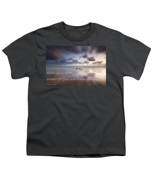 Psalm 19 1 Youth T-Shirt