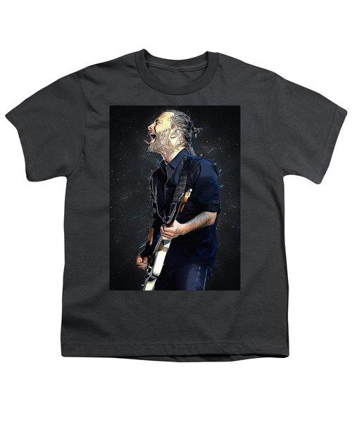 Radiohead - Thom Yorke Youth T-Shirt by Semih Yurdabak