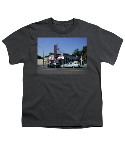 Youth T-Shirt featuring the photograph Raifords Disco Memphis A by Mark Czerniec