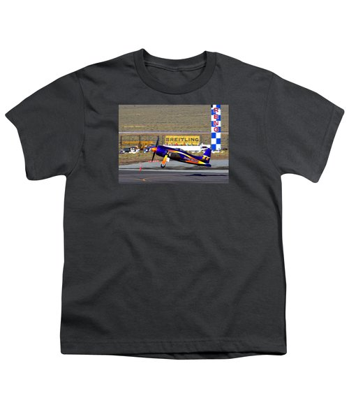Rare Bear Take-off Sunday's Unlimited Gold Race Youth T-Shirt