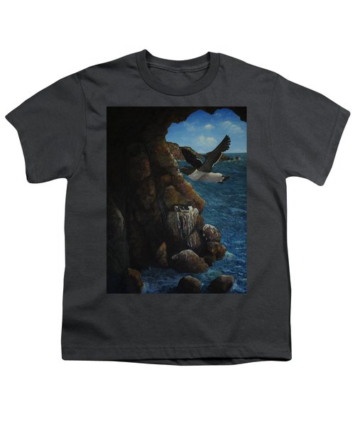 Razorbills Youth T-Shirt by Eric Petrie