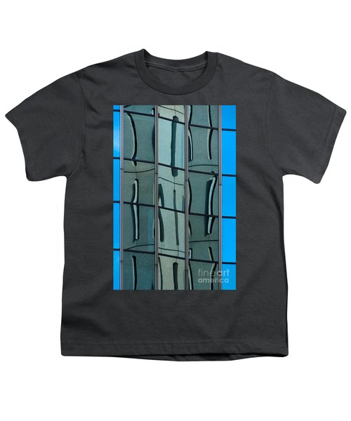Youth T-Shirt featuring the photograph Reflecting Eagle 1 by Werner Padarin