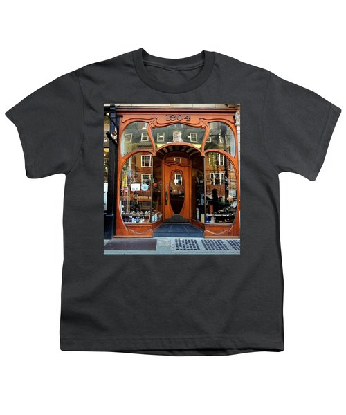 Reflecting On A Cambridge Shoe Shine Youth T-Shirt
