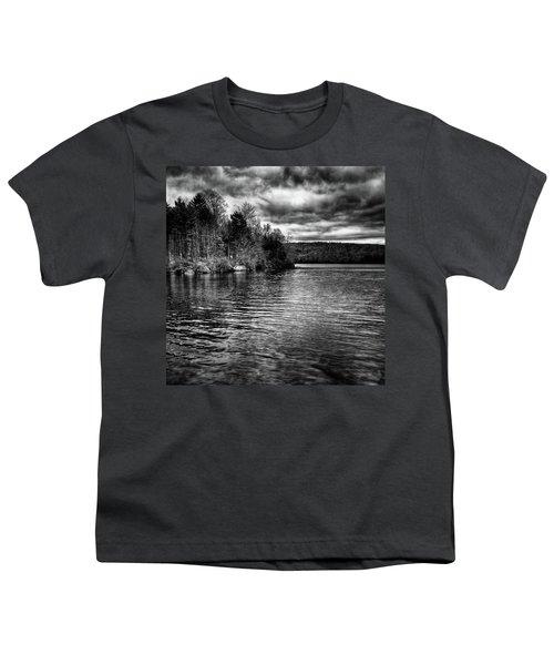 Reflections On Limekiln Lake Youth T-Shirt by David Patterson