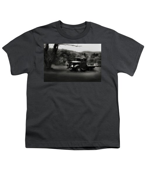 Youth T-Shirt featuring the photograph Relic Truck by Bill Wakeley