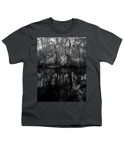 River Bank Palmetto Youth T-Shirt by Marvin Spates