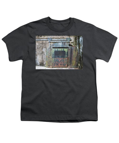 Rolling Door To The Bunker Youth T-Shirt