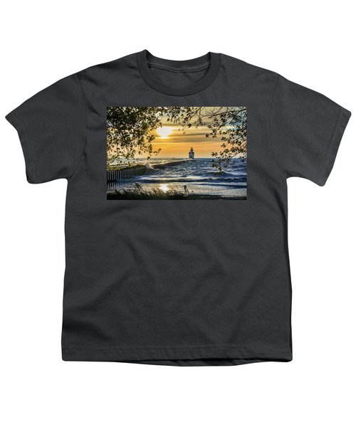 Youth T-Shirt featuring the photograph Rough Opening by Bill Pevlor