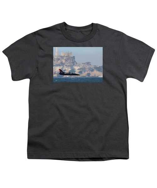 Skimming The Bay Youth T-Shirt