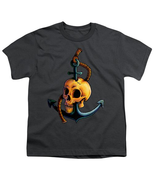 Skullchor Youth T-Shirt by Vicki Von Doom