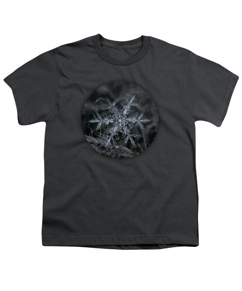 Snowflake 2 Of 19 March 2013 Youth T-Shirt by Alexey Kljatov