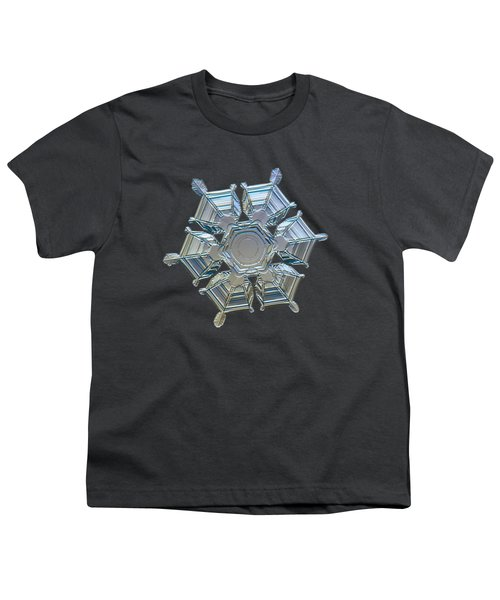 Snowflake Photo - Ice Relief Youth T-Shirt