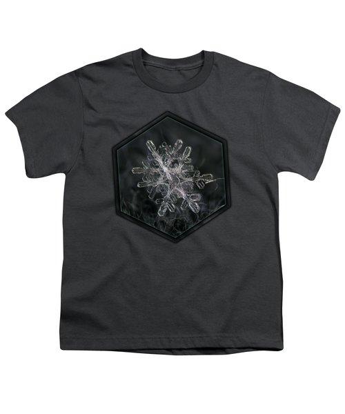 Snowflake Photo - January 18 2013 Grey Colors Youth T-Shirt