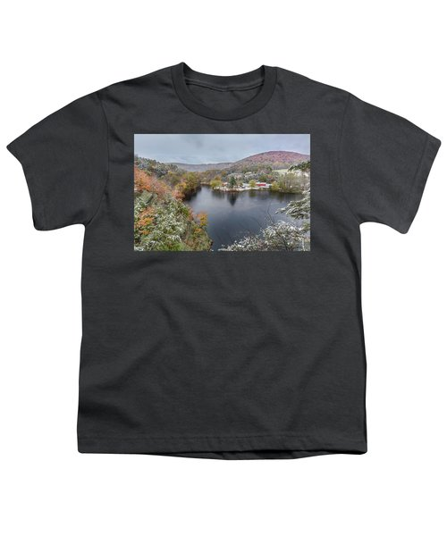 Youth T-Shirt featuring the photograph Snowliage by Bill Wakeley