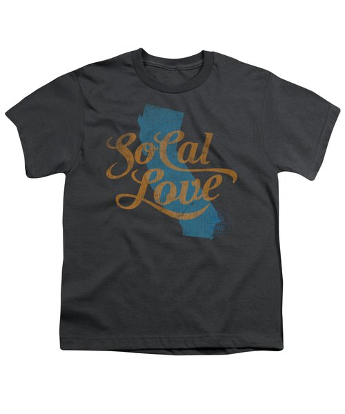 Socal Love Youth T-Shirt by Jason Richard
