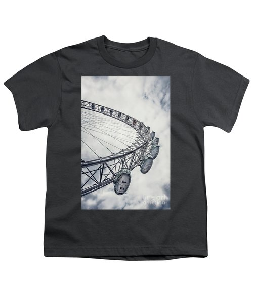 Spin Me Around Youth T-Shirt by Evelina Kremsdorf