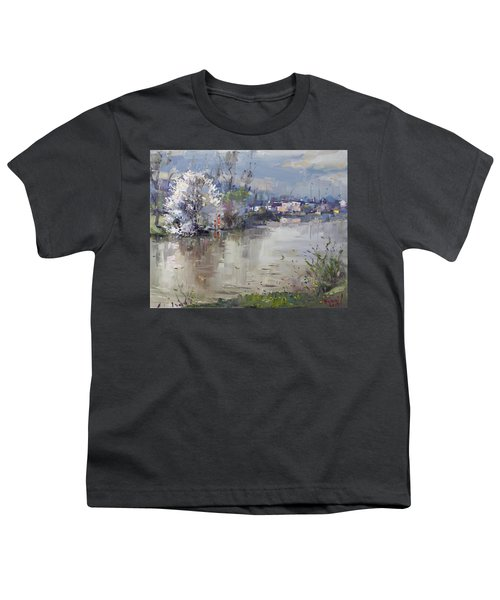 Spring In Hyde Park Youth T-Shirt by Ylli Haruni