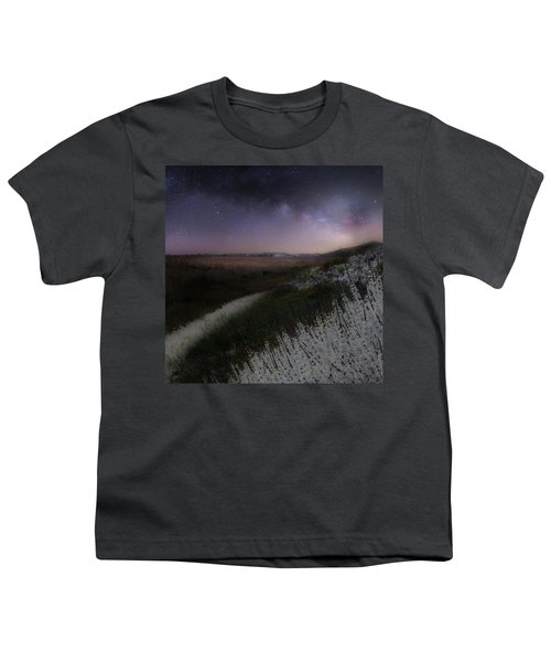 Youth T-Shirt featuring the photograph Star Flowers Square by Bill Wakeley