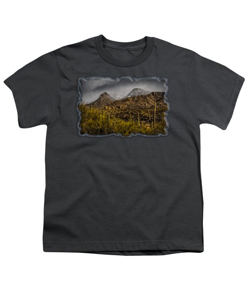 Storm Over Catalinas 15 Youth T-Shirt by Mark Myhaver