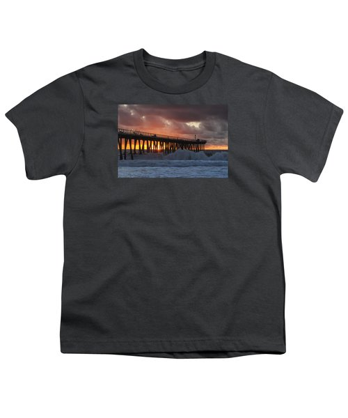 Stormy Sunset Youth T-Shirt