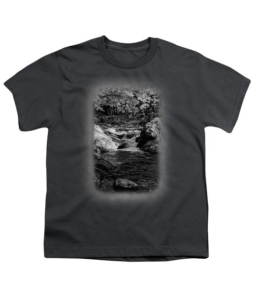 Stream In Autumn No.18 Youth T-Shirt by Mark Myhaver