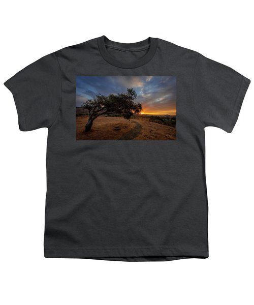 Sunrise Over San Luis Obispo Youth T-Shirt
