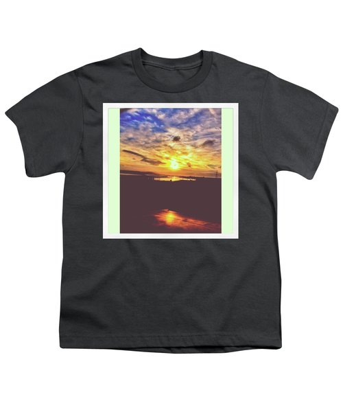 Sunset In Trostre. On My Way Back From Youth T-Shirt