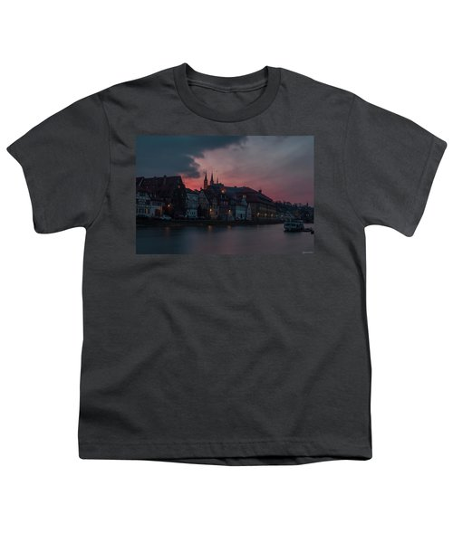Sunset Over Bamberg Youth T-Shirt by Photo Escape