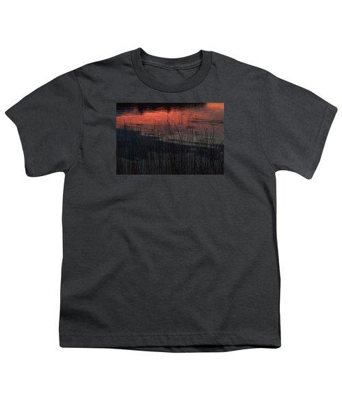 Sunset Reeds Youth T-Shirt