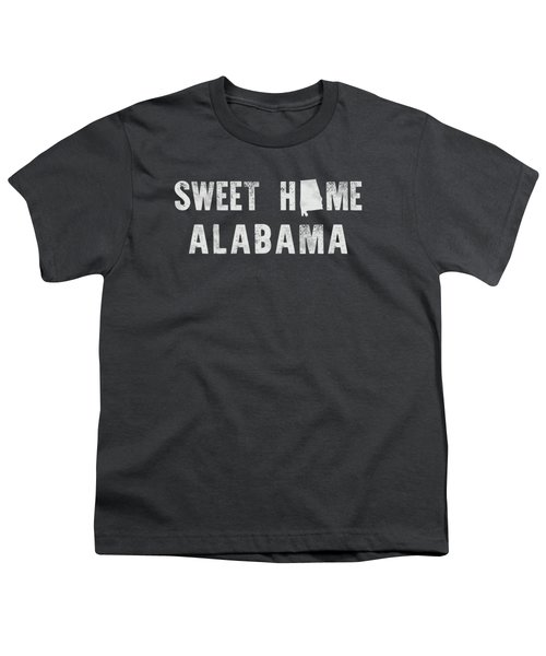 Sweet Home Alabama Youth T-Shirt by Nancy Ingersoll