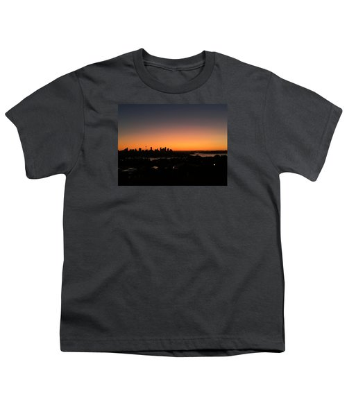 Sydney Skyline Youth T-Shirt by Scarlett Bieri