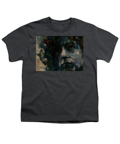 Tagged Up In Blue- Bob Dylan  Youth T-Shirt