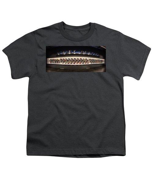 Youth T-Shirt featuring the photograph Tank Wall by Randy Scherkenbach