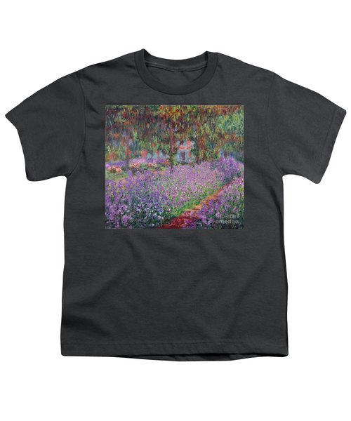 The Artists Garden At Giverny Youth T-Shirt