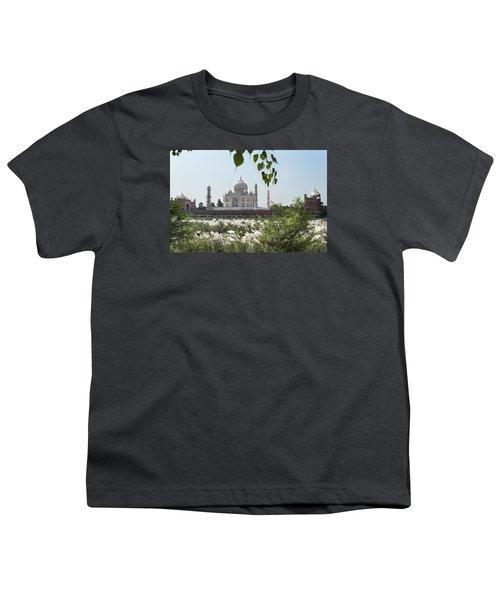 The Calm Behind The Taj Mahal Youth T-Shirt
