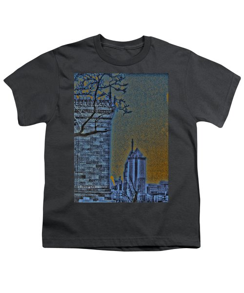 The Encroachment Upon Art Youth T-Shirt