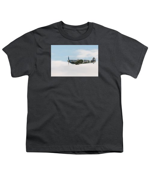 The Grace Spitfire Youth T-Shirt by Gary Eason