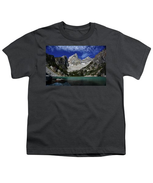 The Grand And Mount Owen From Delta Lake Youth T-Shirt