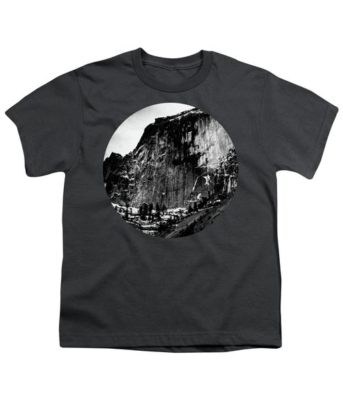 The Great Wall, Black And White Youth T-Shirt
