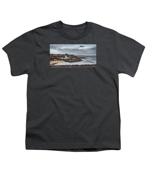The Harbour Of Crail Youth T-Shirt by Jeremy Lavender Photography