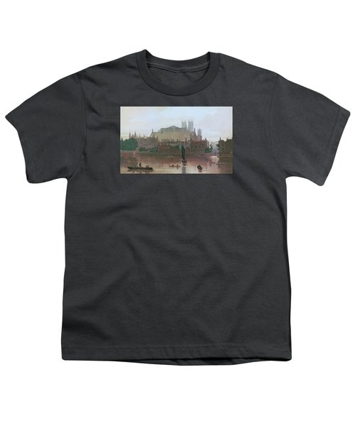 The Houses Of Parliament Youth T-Shirt by George Fennel Robson