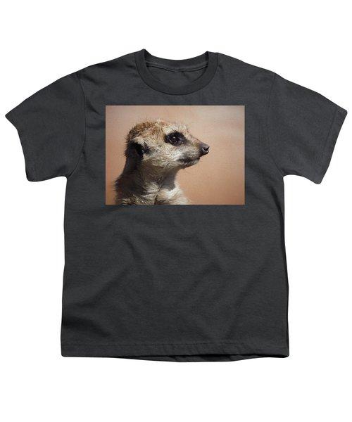 The Meerkat Da Youth T-Shirt by Ernie Echols