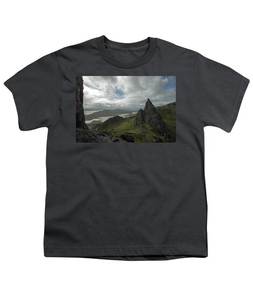 The Old Man Of Storr Youth T-Shirt