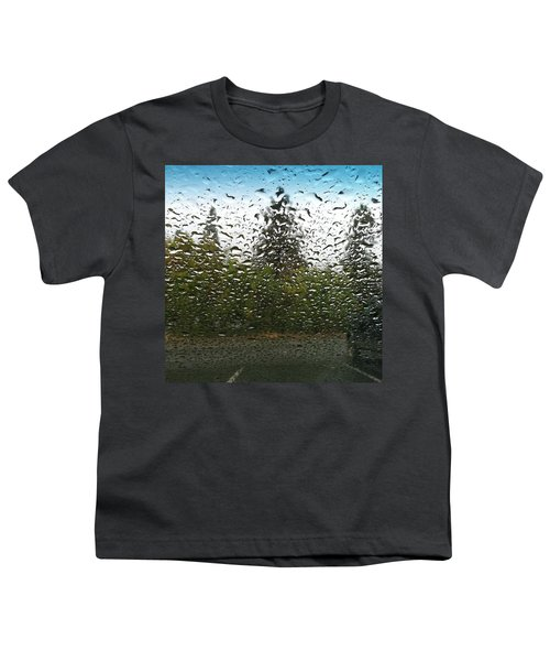 The Rain Was So Nice Today And I Got A Youth T-Shirt
