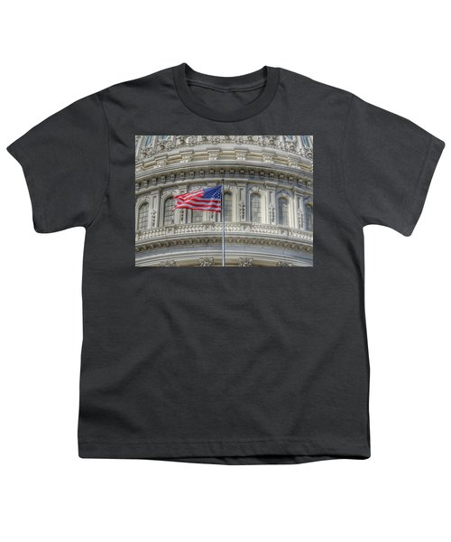 The Us Capitol Building - Washington D.c. Youth T-Shirt