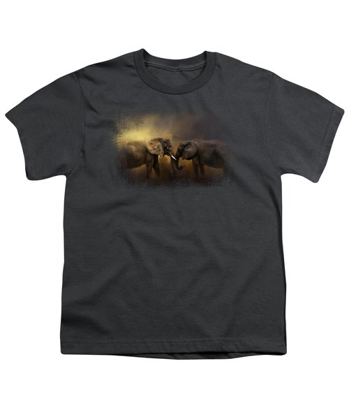 Together Through The Storms Youth T-Shirt by Jai Johnson
